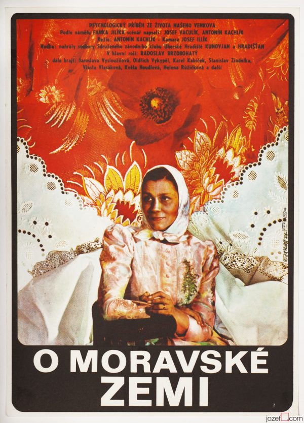 Vintage movie poster, The Moravian Land
