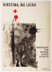 Hiroshima Mon Amour poster, Vintage Movie Poster