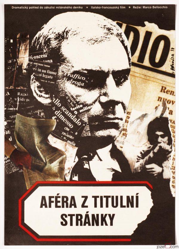 Movie Poster, Italian Drama, 1970s Poster