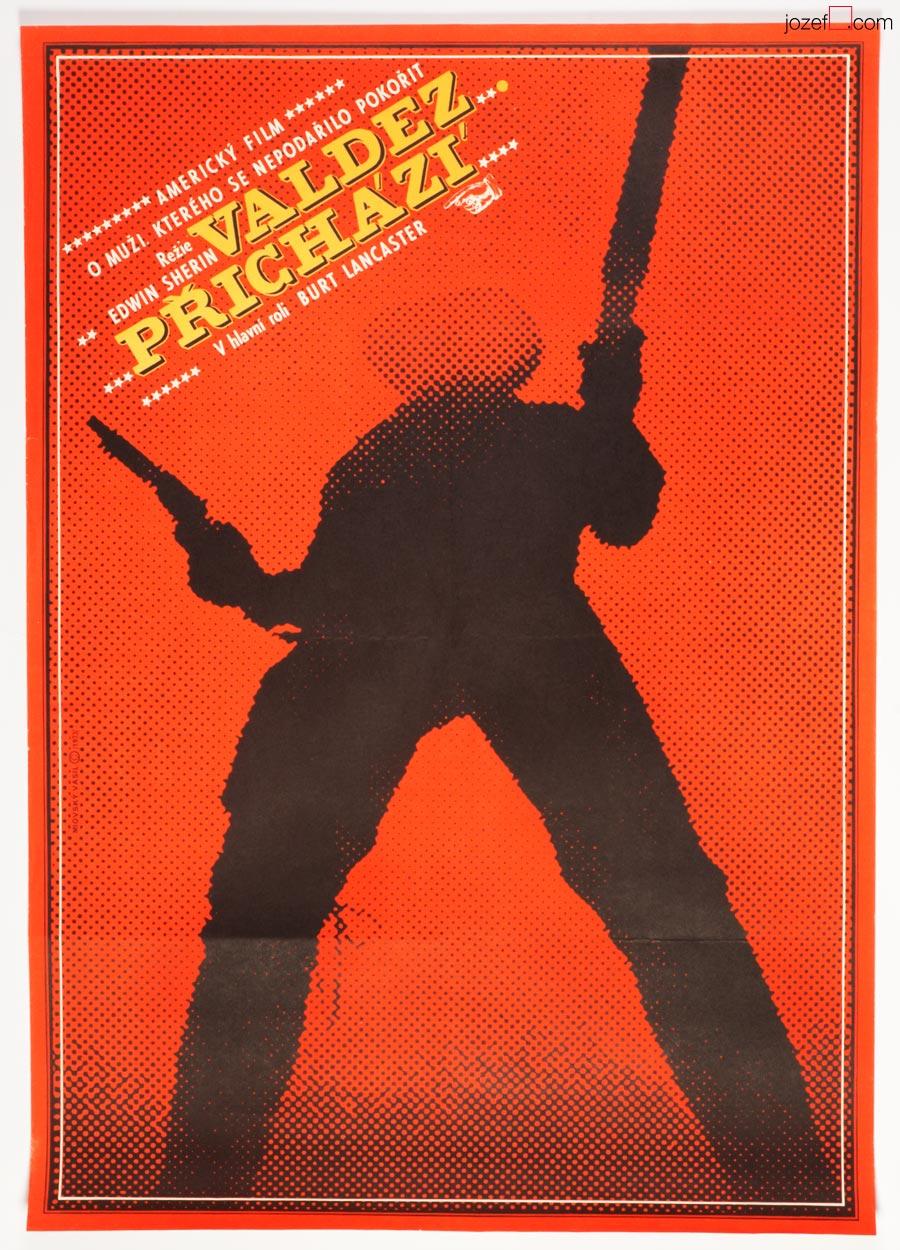 Valdez Is Coming, Vintage Movie Poster