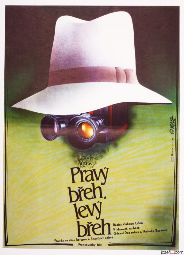 Movie Poster, Right Bank, Left Bank