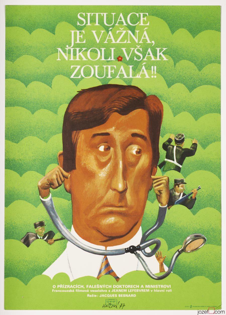 Movie poster - La situation est grave... mais pas désespérée, Vintage Poster