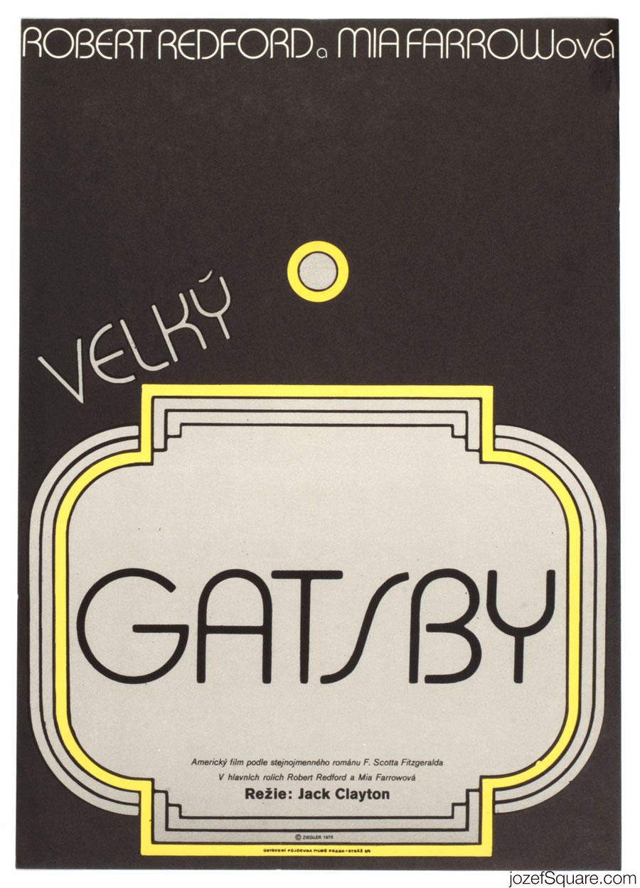 The Great Gatsby movie poster, Minimalist poster design