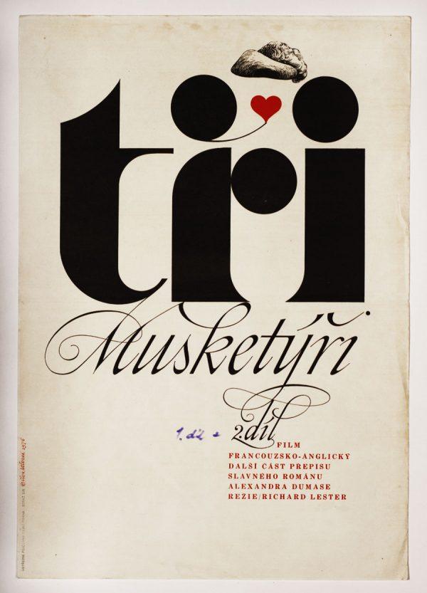 The Three Musketeers, Vintage Movie Poster