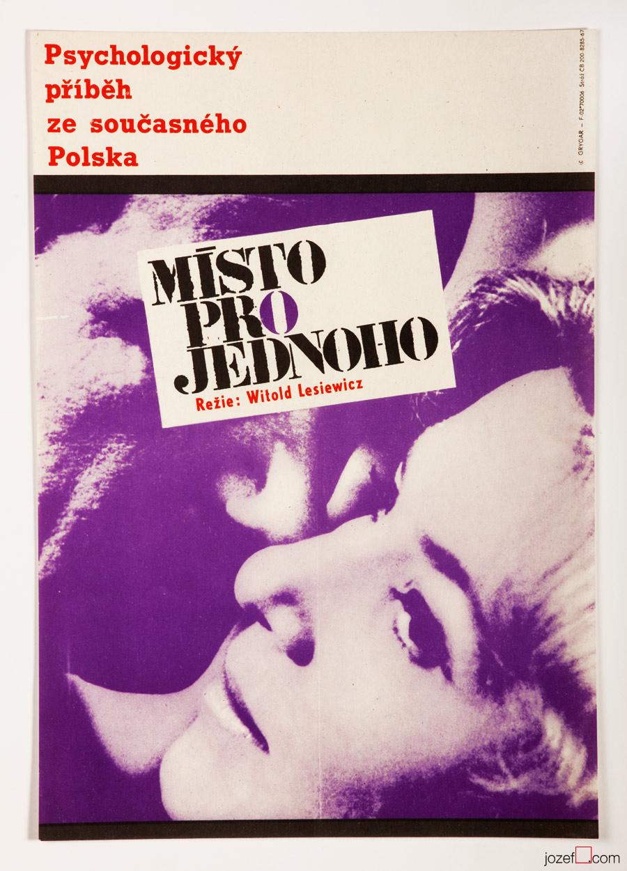 Minimalist Vintage Movie Poster, 60s Poster Art