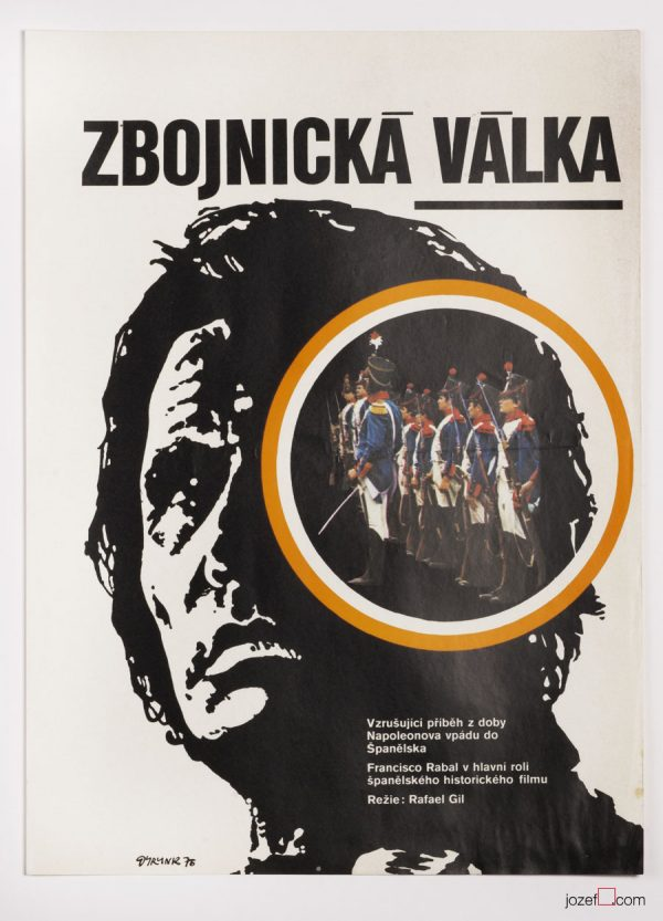 Movie Poster, La Guerilla, 1970s Vintage Poster
