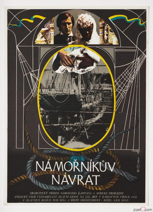Movie Poster, The Sailor's Return, Collage Poster