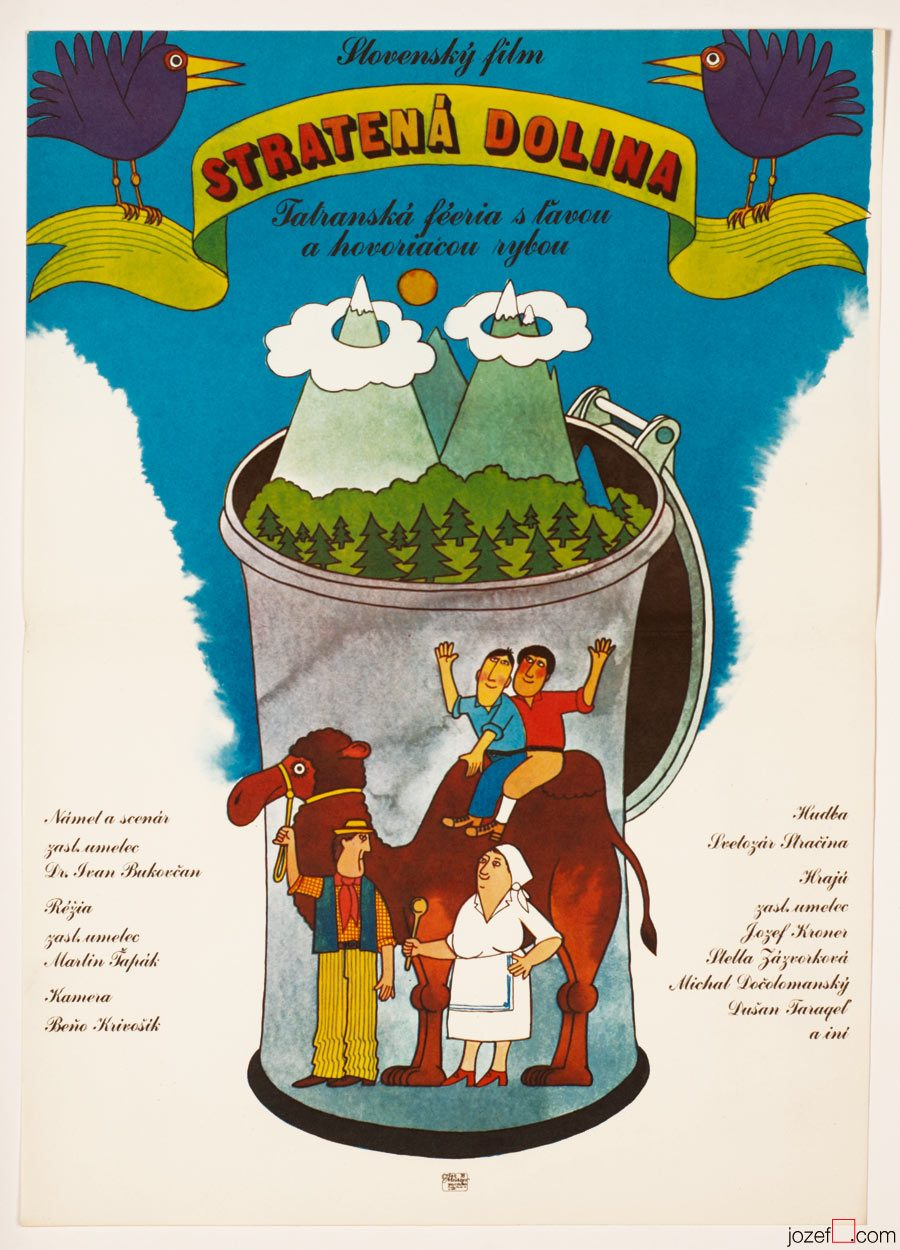 Movie Poster, Lost Lowlands, Illustrated Poster
