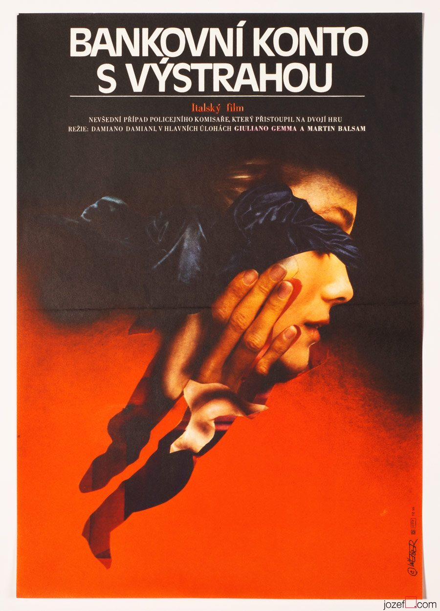Movie Poster, The Warning, 1980s Poster