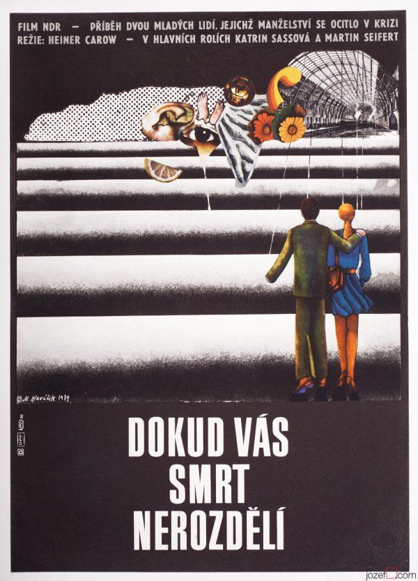Movie Poster Until Death Do Us Part, Collage Poster Art