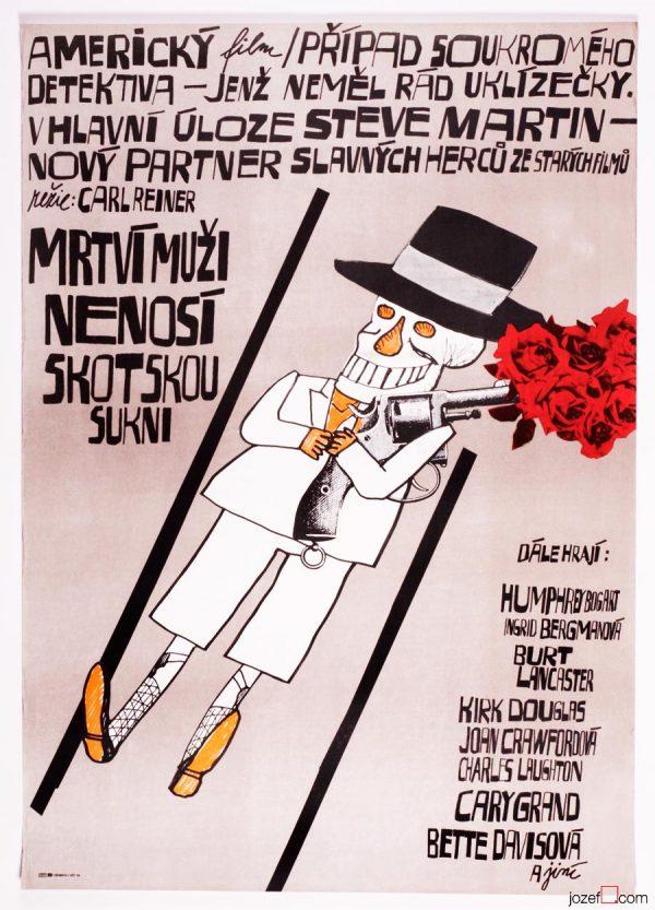 Dead Men Don't Wear Plaid Poster, 80s Film Poster