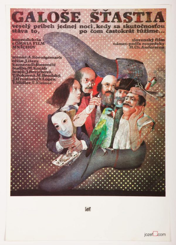 The Magic Galoshes, Kids Poster