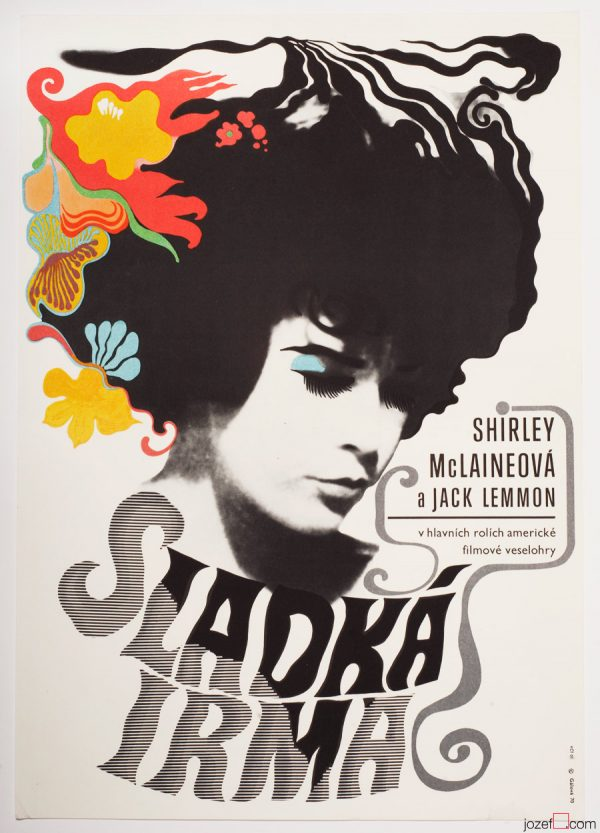 Irma La Duce Movie Poster, 1970s Poster