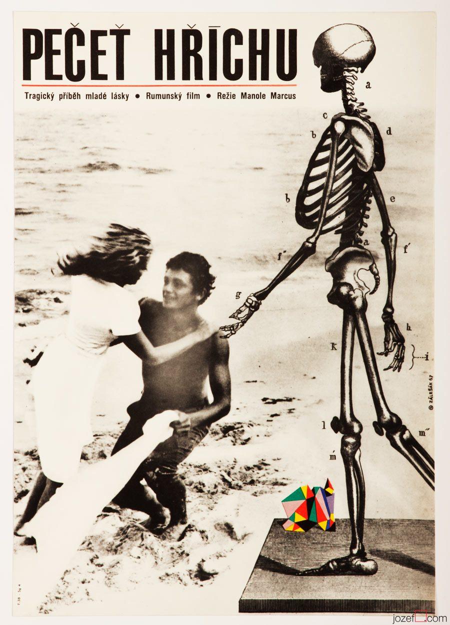 Movie Poster Virgo, 1960s Movie Poster