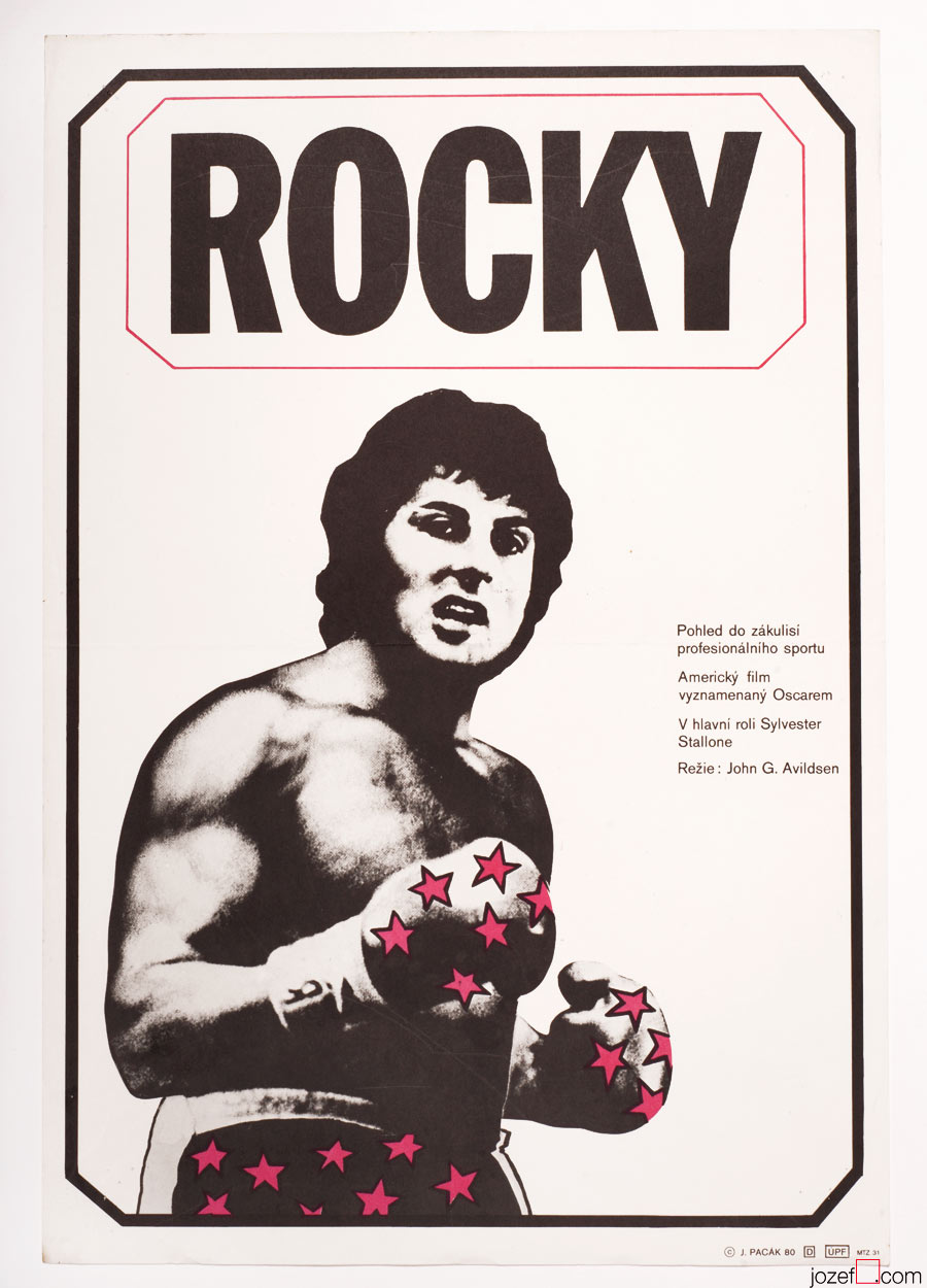 Rocky poster, Minimalist Poster