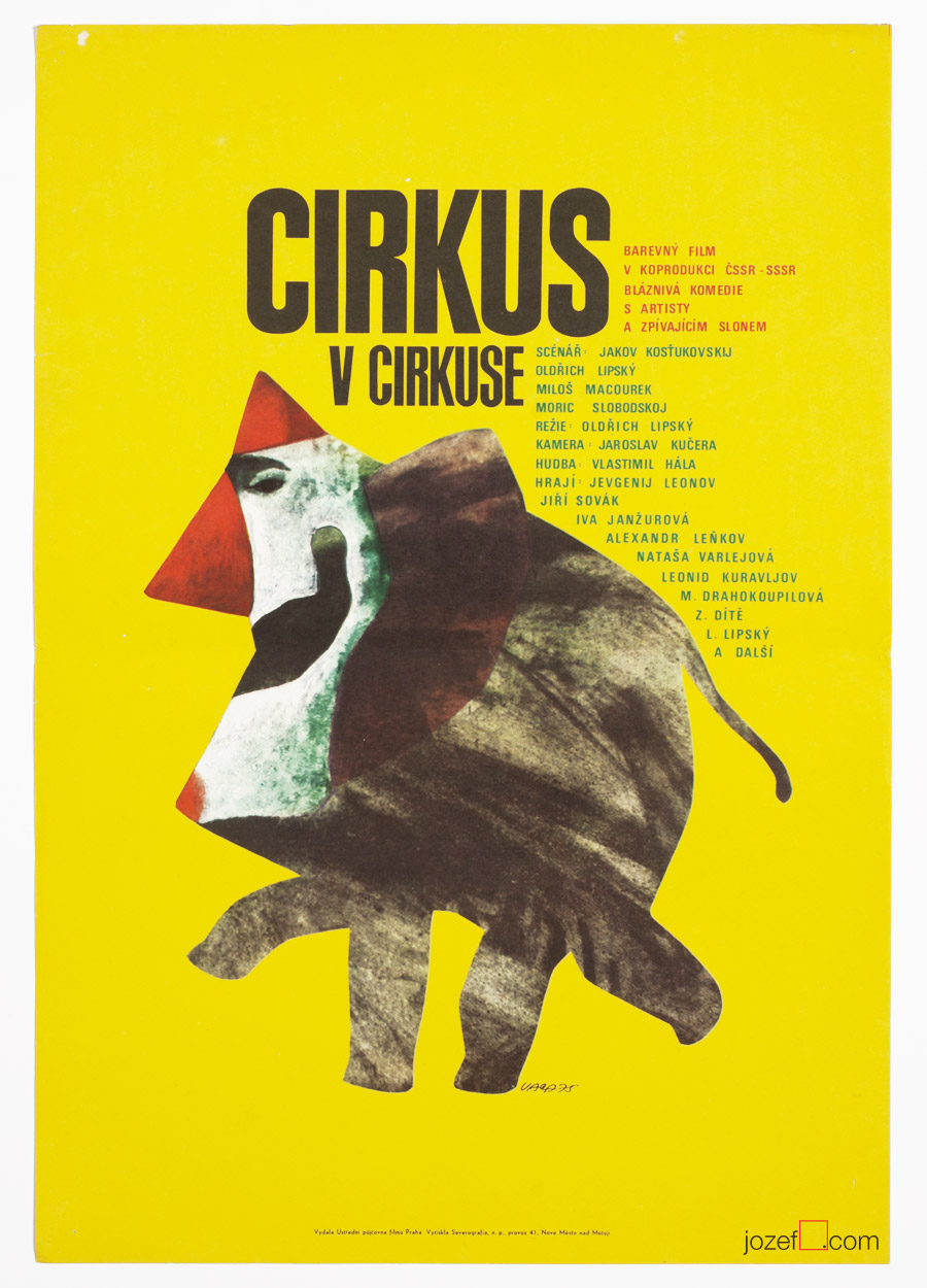Circus in the Circus, Vintage Poster