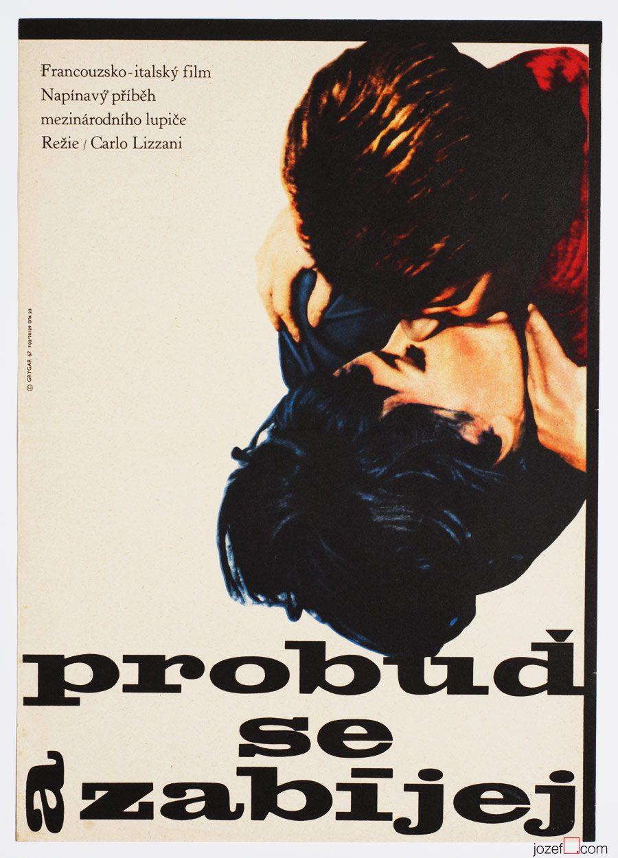 Wake up and Die Movie Poster, 60s Art