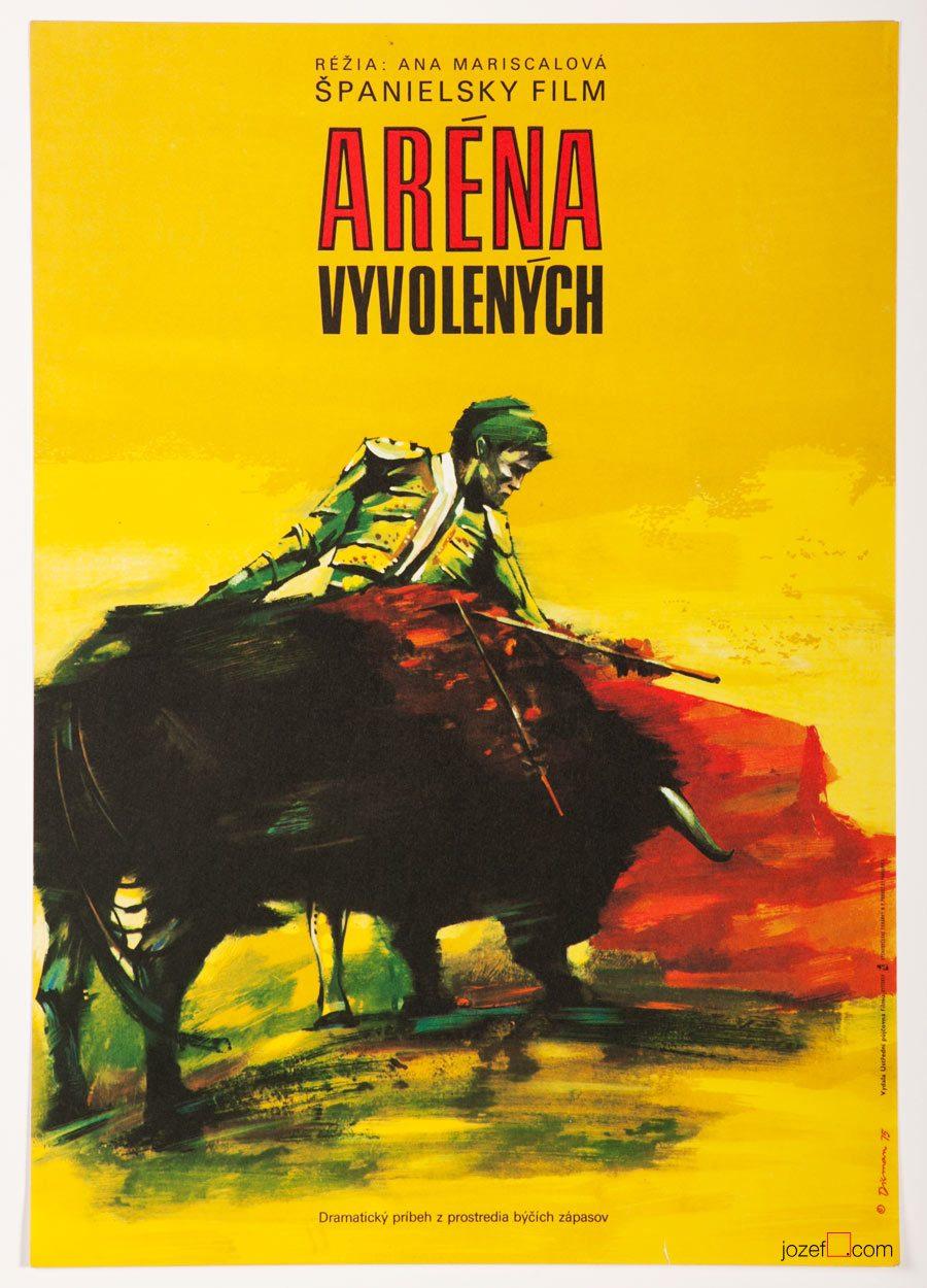 El Paseíllo Vintage Film Poster