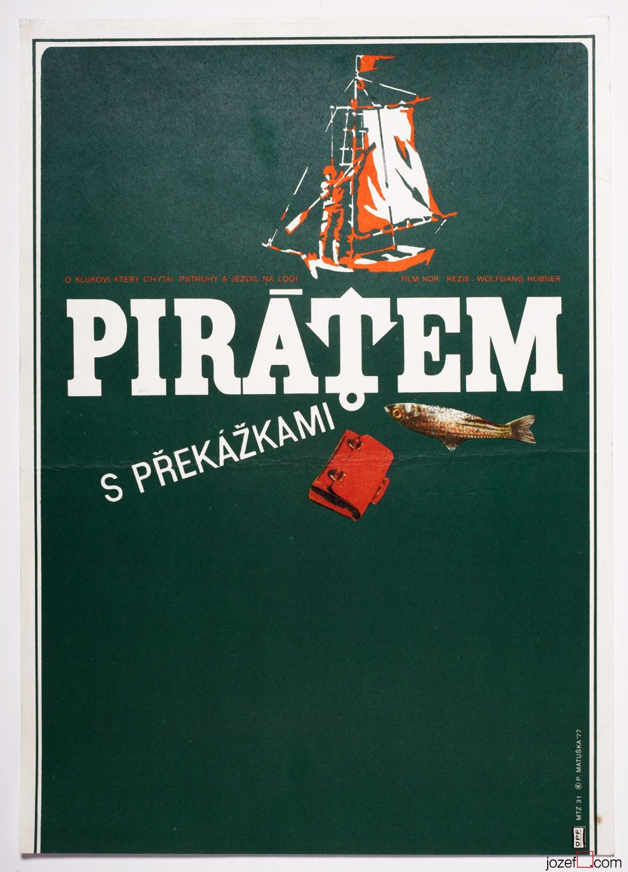 Movie poster Pirate with Obstacles, Kids Poster