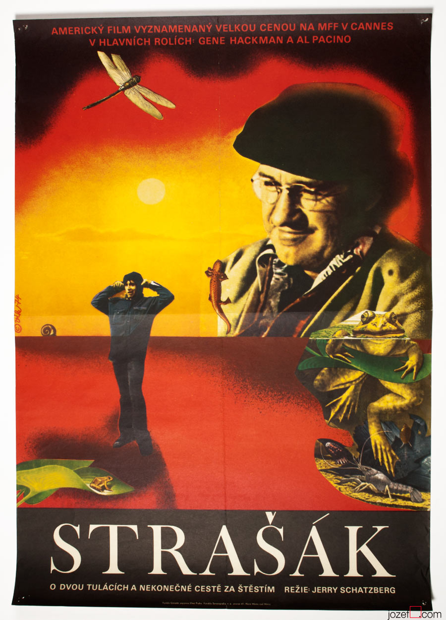 Scarecrow movie poster, Surreal poster