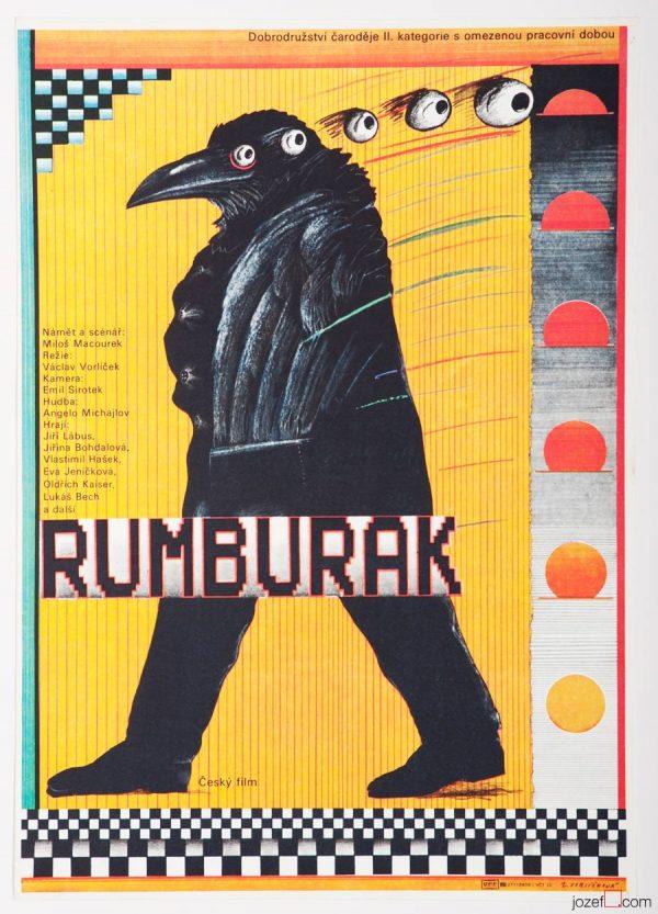Kids Poster Rumburak, 1980s Poster