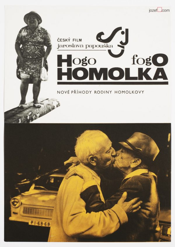 Movie Poster Hogo Fogo Homolka, Collage Poster