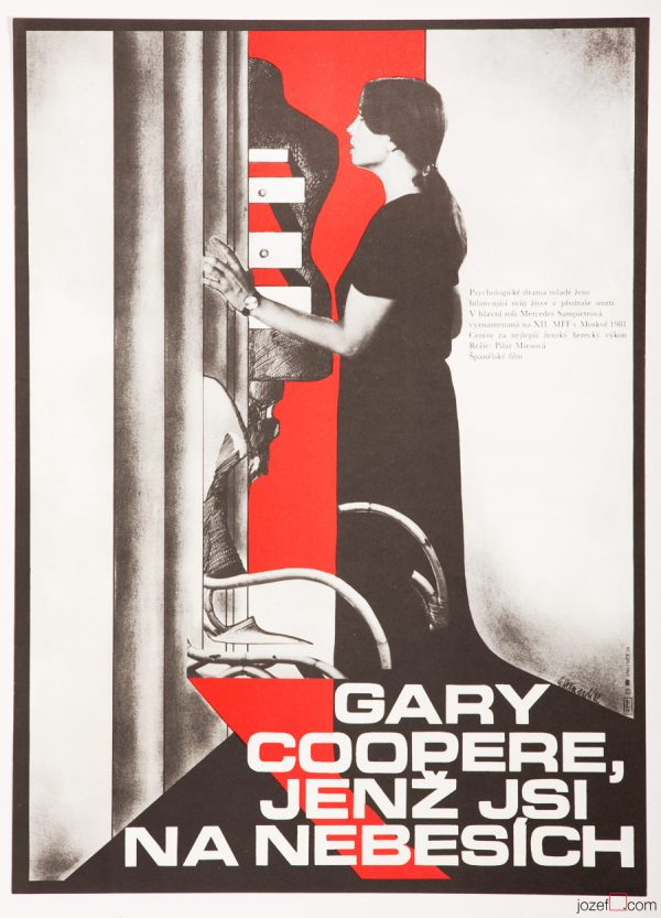 Gary Cooper, Who Art in Heaven Film Poster