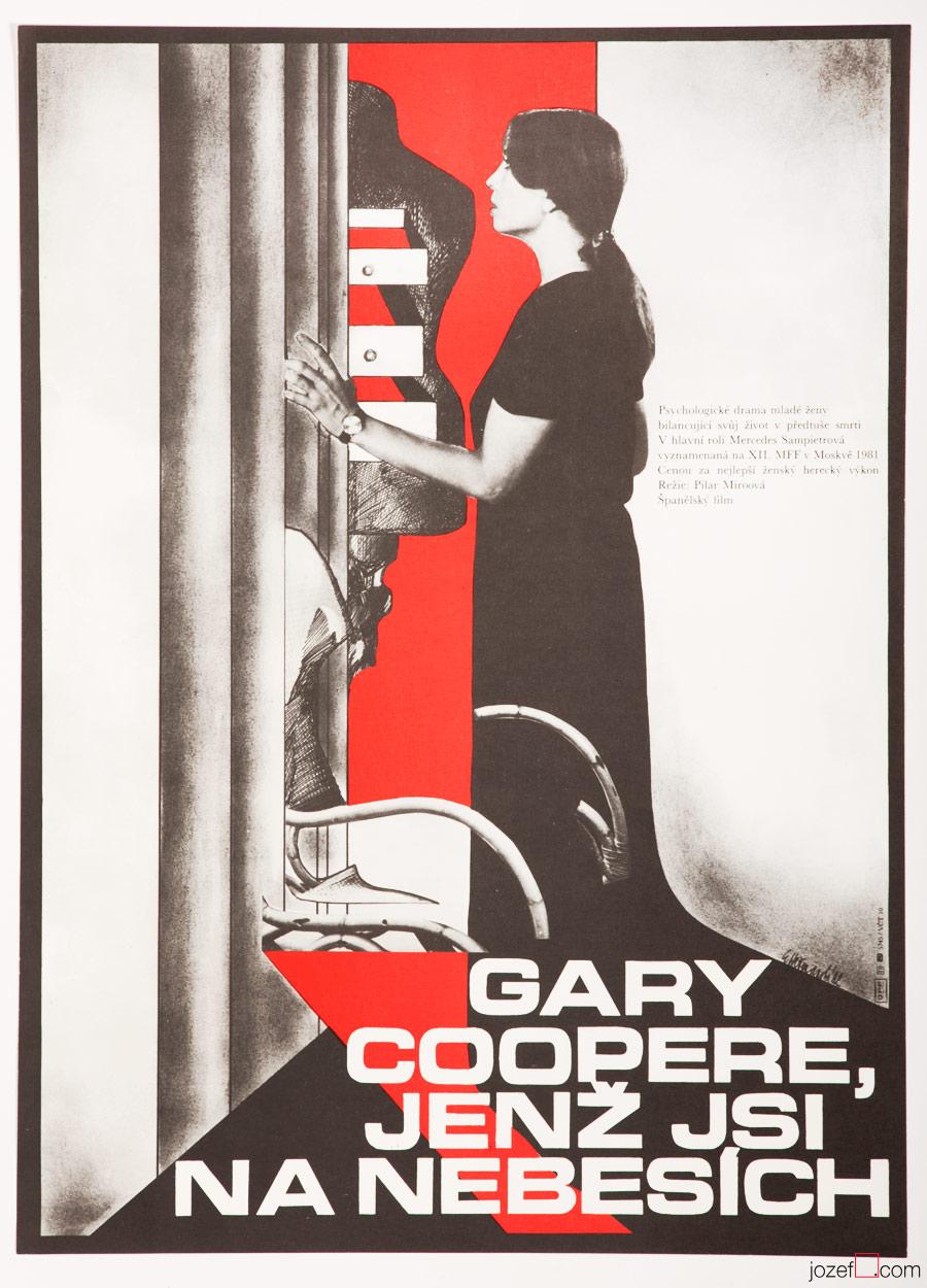 Gary Cooper, Who Art in Heaven Film Poster