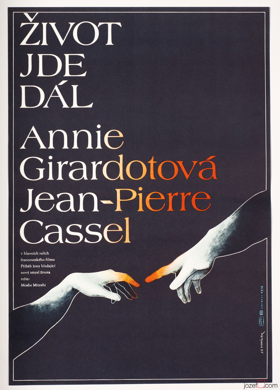 Life Goes On Film Poster, French Cinema