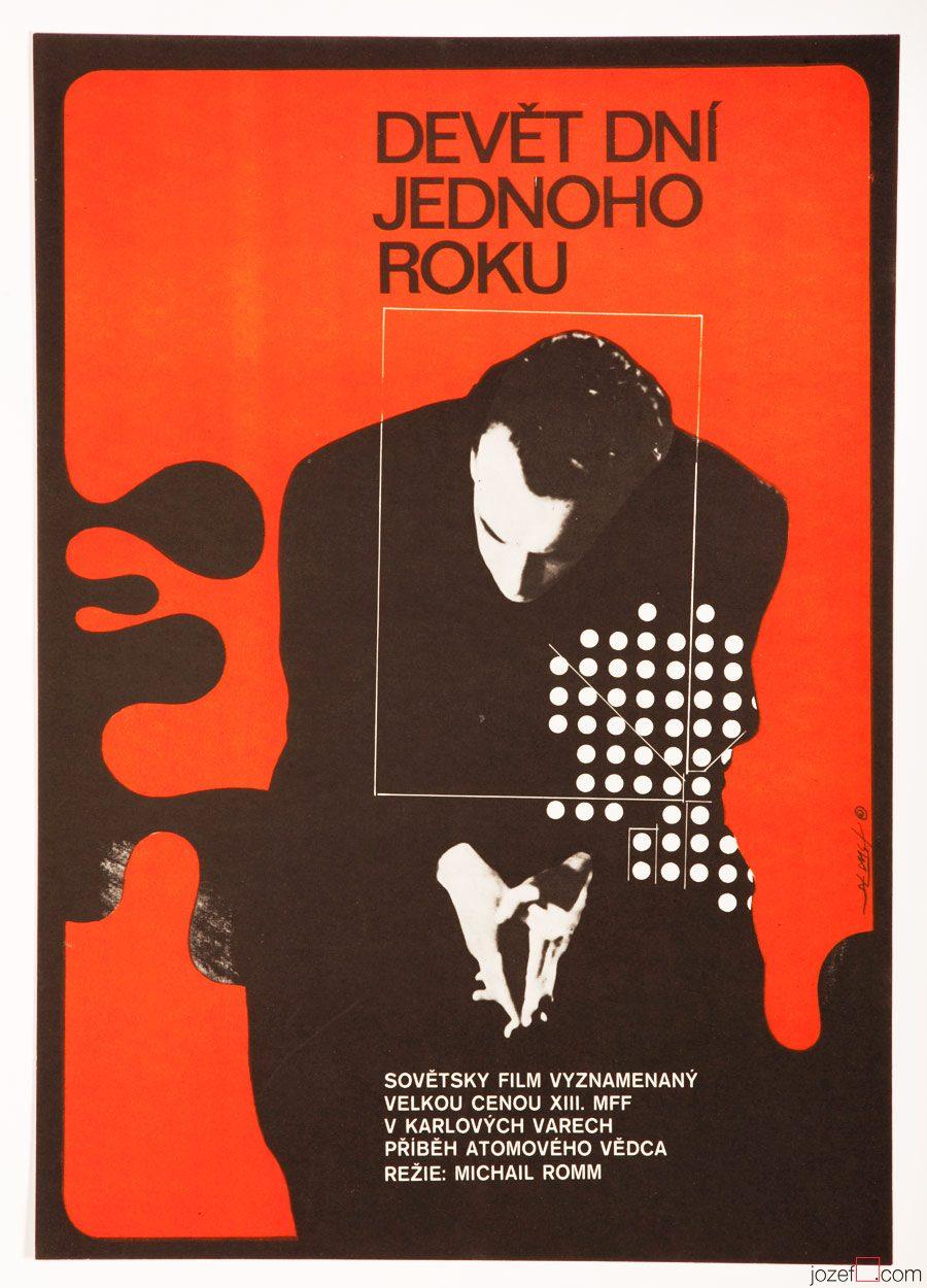 Minimalist Movie Poster, Nine Days of One Year