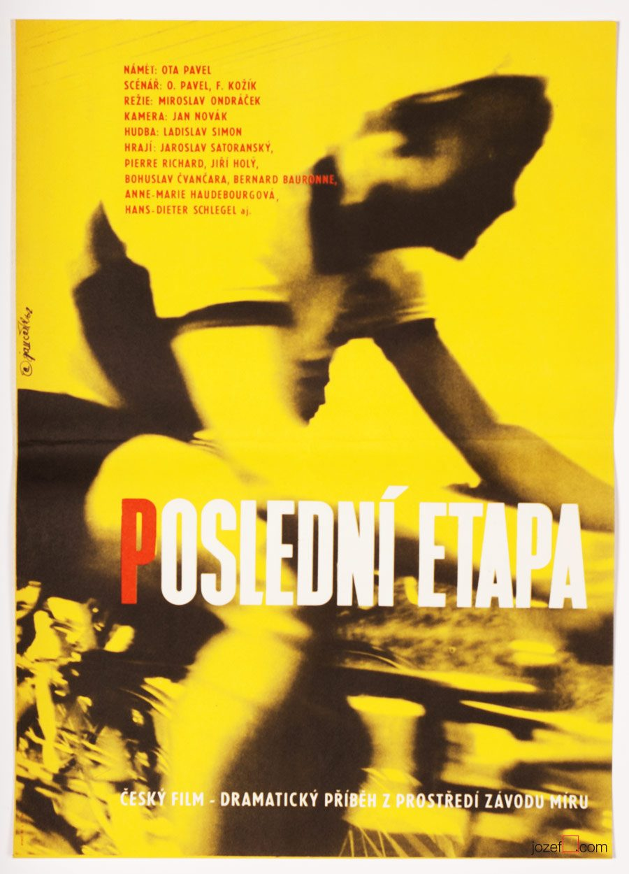 Cycling poster, The Final Stage