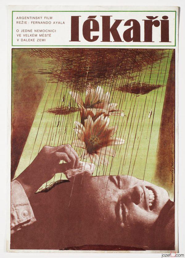 Movie Poster, The Doctors, 70s Cinema Art