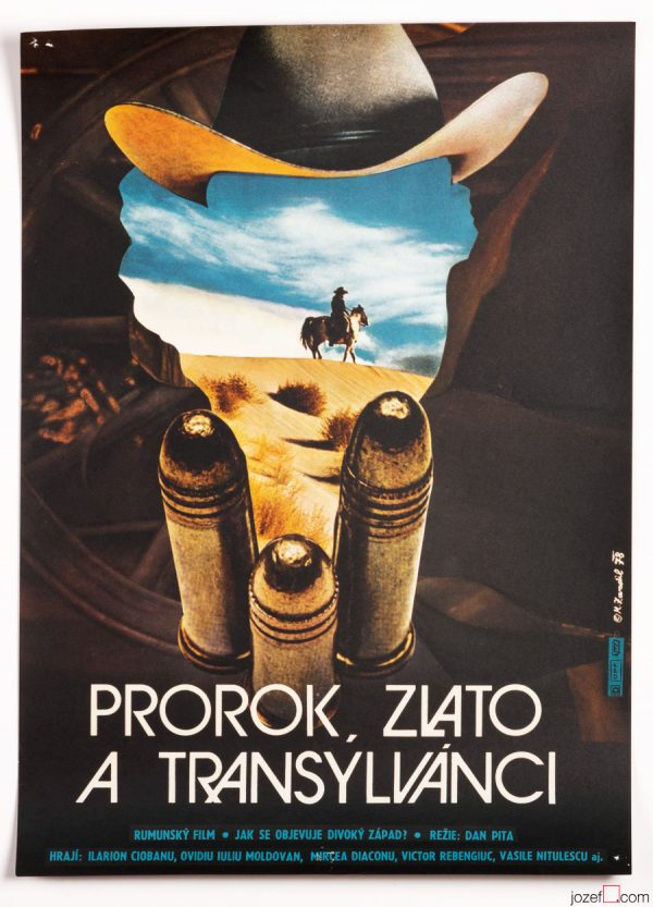 Western Poster The Prophet, the Gold and the Transylvanians