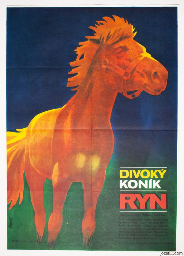 Kids Poster The Wild Horse Called Ryn