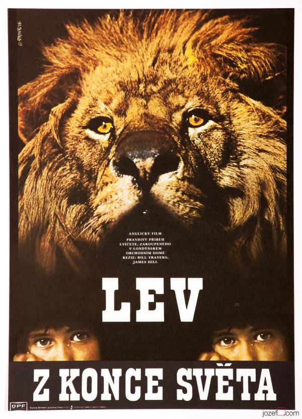 Christian the Lion movie poster, Documentary Poster