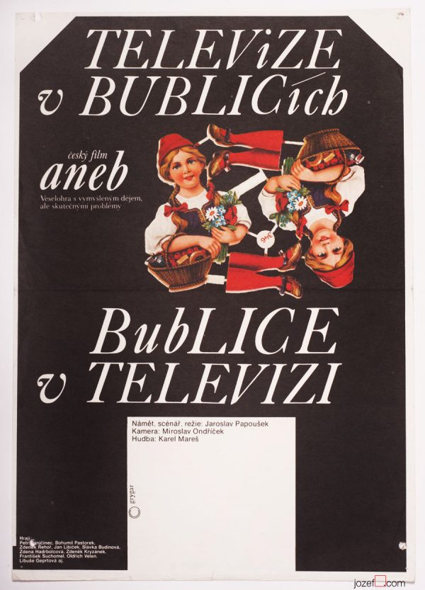 Movie Poster Television in Bublice or Bublice in Television