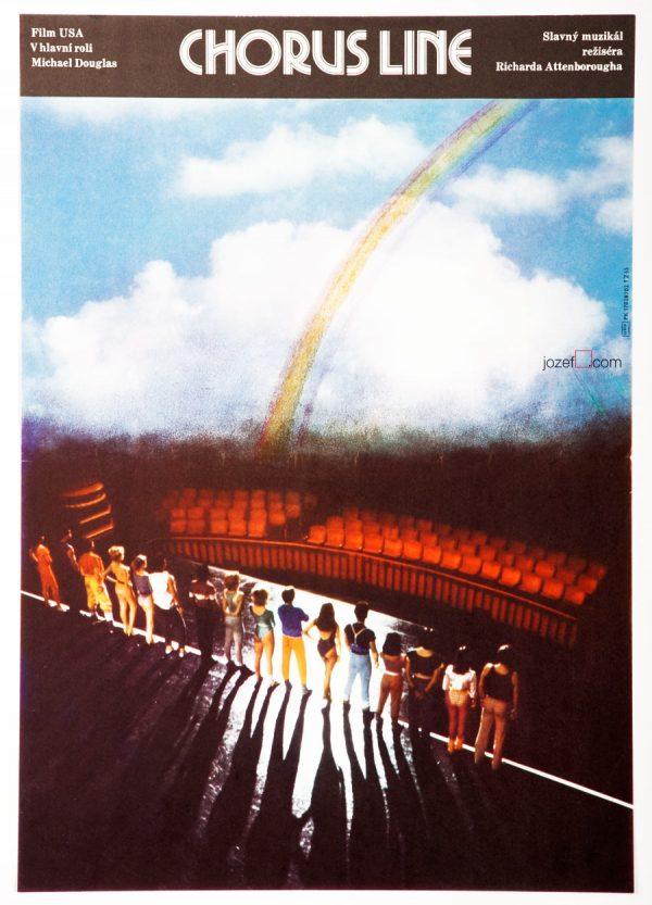 A Chorus Line Film Poster, 80s Poster