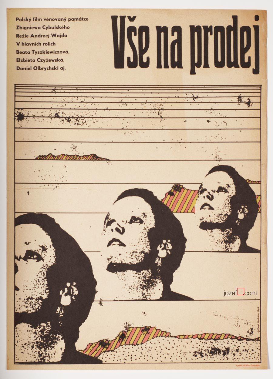 Everything for Sale, Andrzej Wajda, Vintage Poster