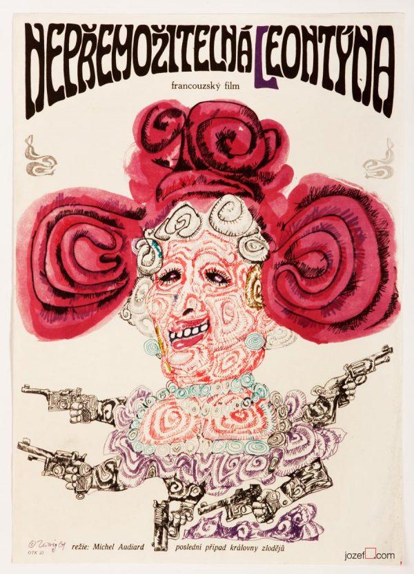 Leontine Karel Teissig, 60s Film Poster