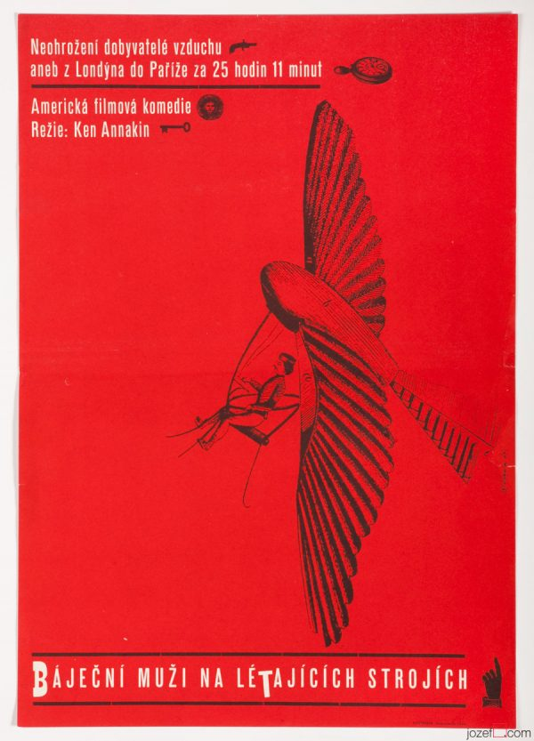 Those Magnificent Men in Their Flying Machines, Karel Vaca