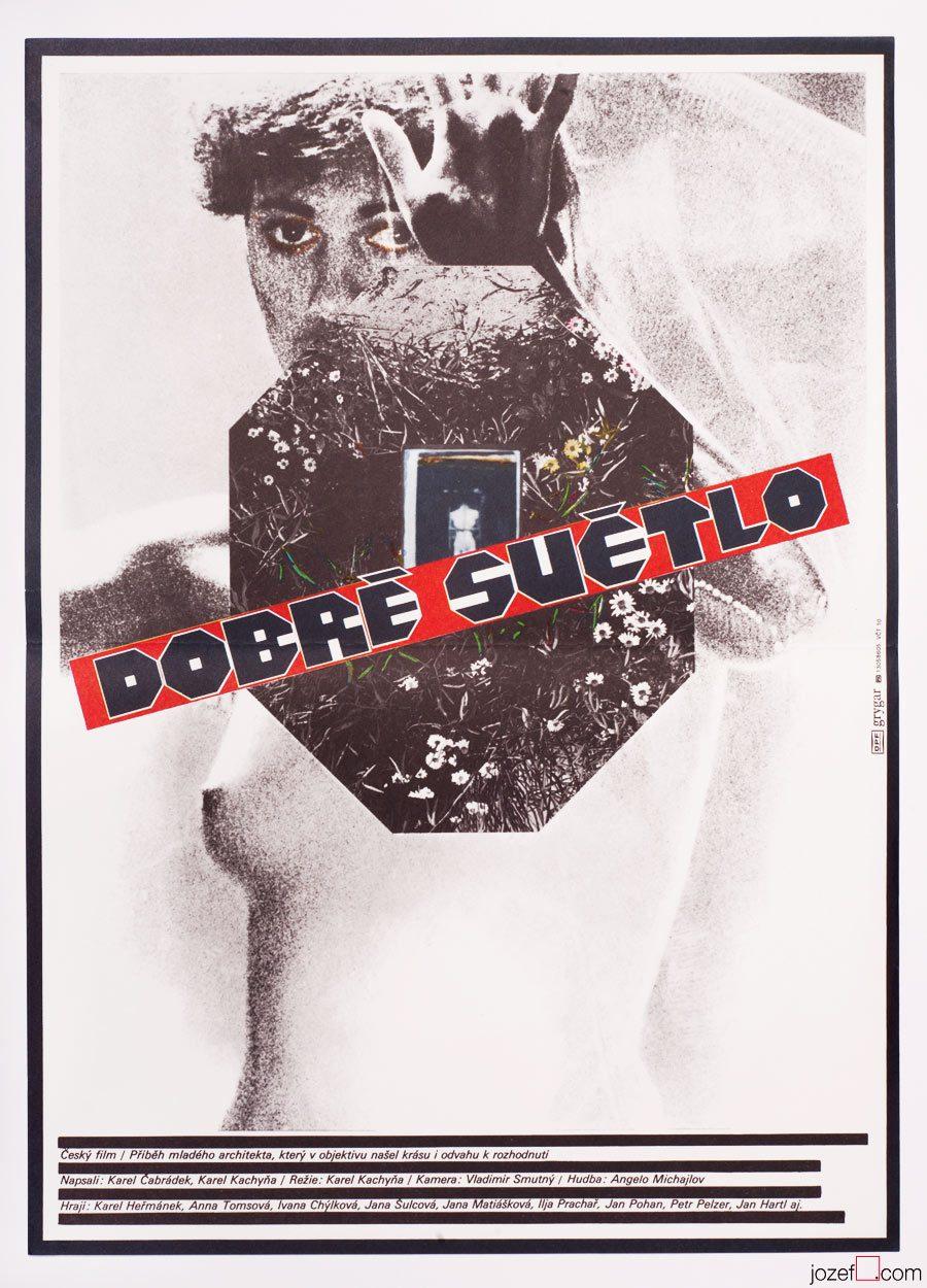 Collage Movie Poster, The Good Light, 80s Cinema Art