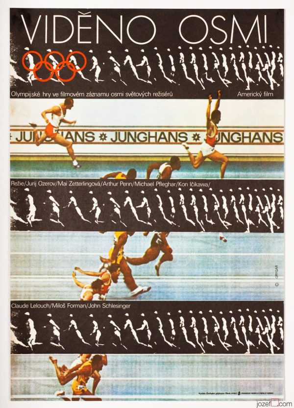 Visions of Eight, Vintage Movie Poster, Olympic Poster