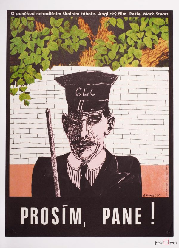 Please Sir!, Vintage Movie Poster