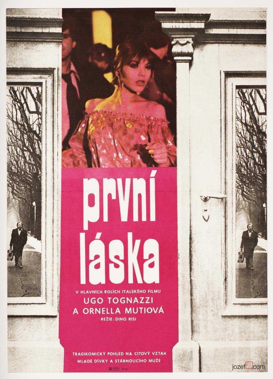 First Love, Prima Amore, Ornella Muti Film Poster
