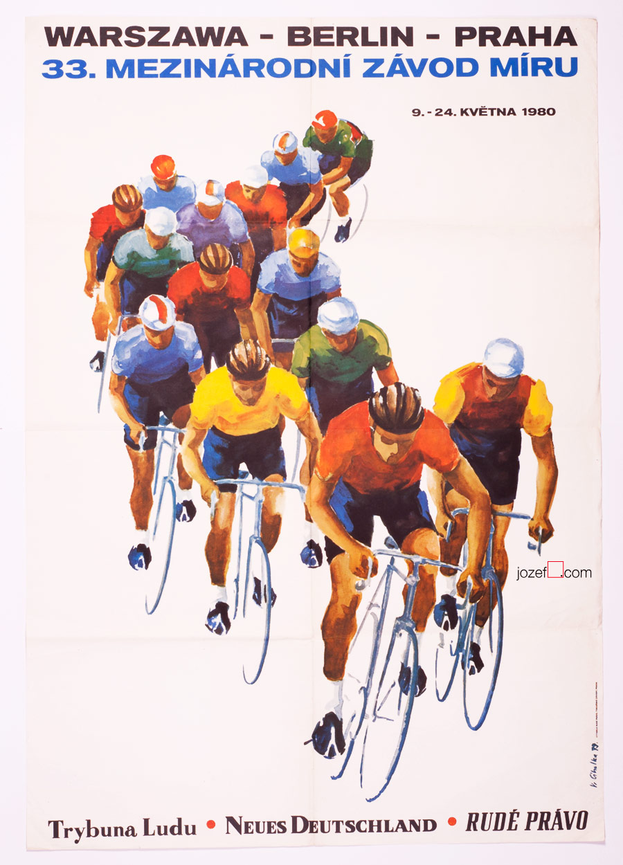33rd Course de la Paix, The Peace Race Poster
