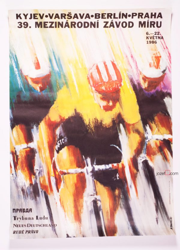 39th Course de la Paix, The Peace Race Poster