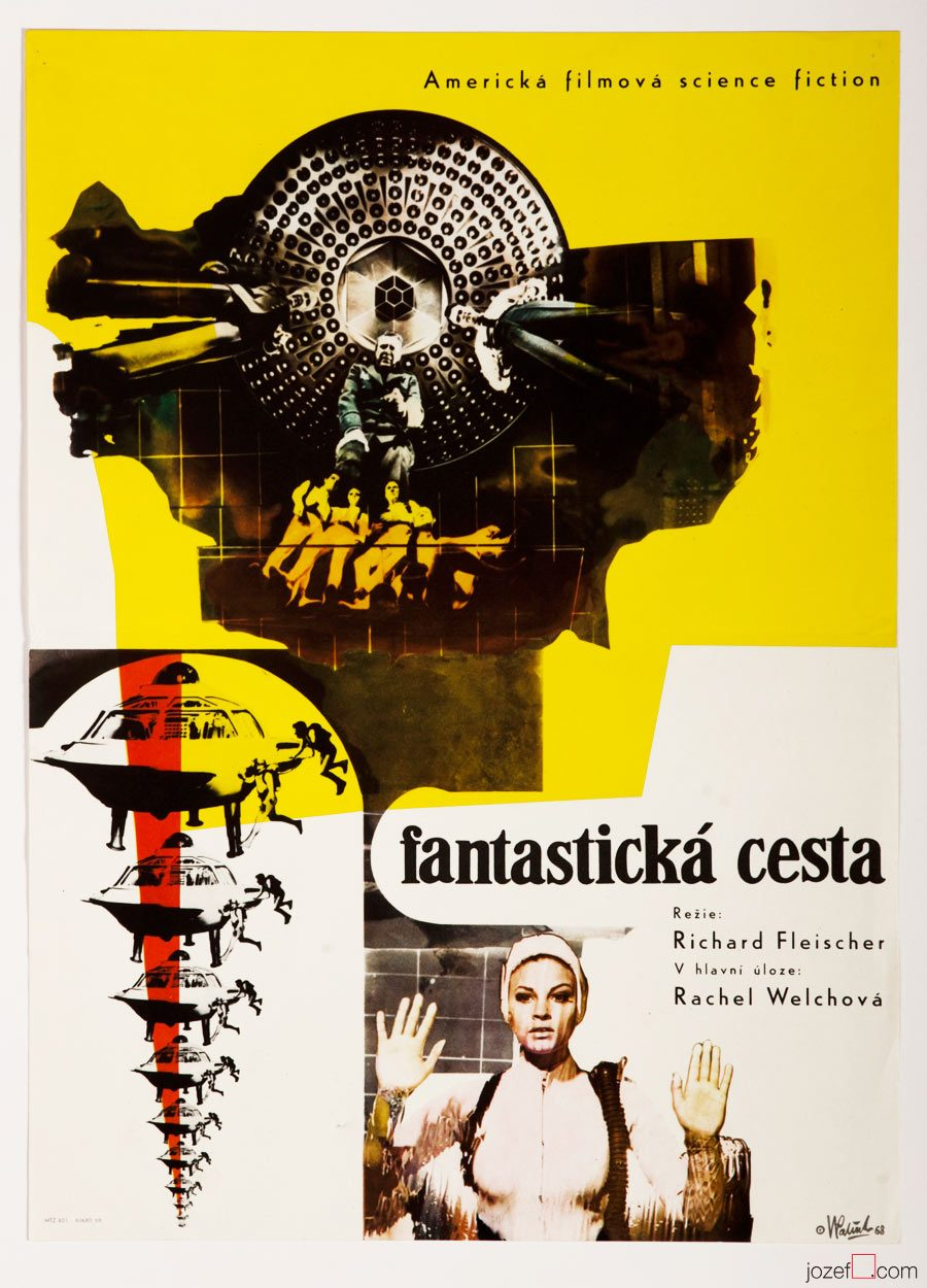 Fantastic Voyage, Film Poster, American Sci-fi