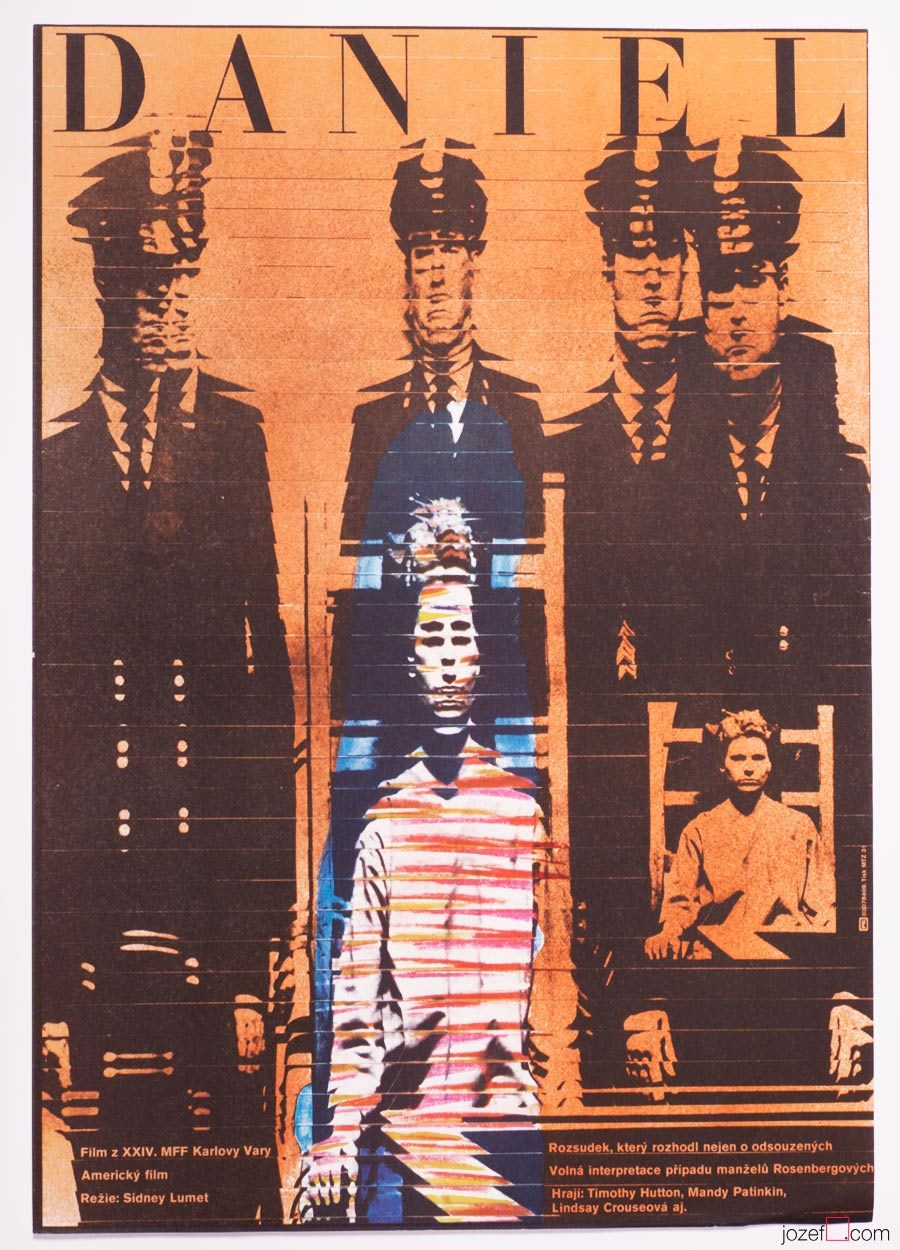 Daniel, Sydney Lumet, Vintage movie poster