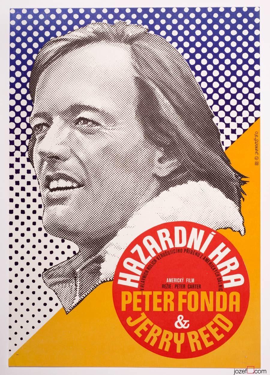 HIgh-Ballin, Peter Fonda, Minimalist Movie Poster