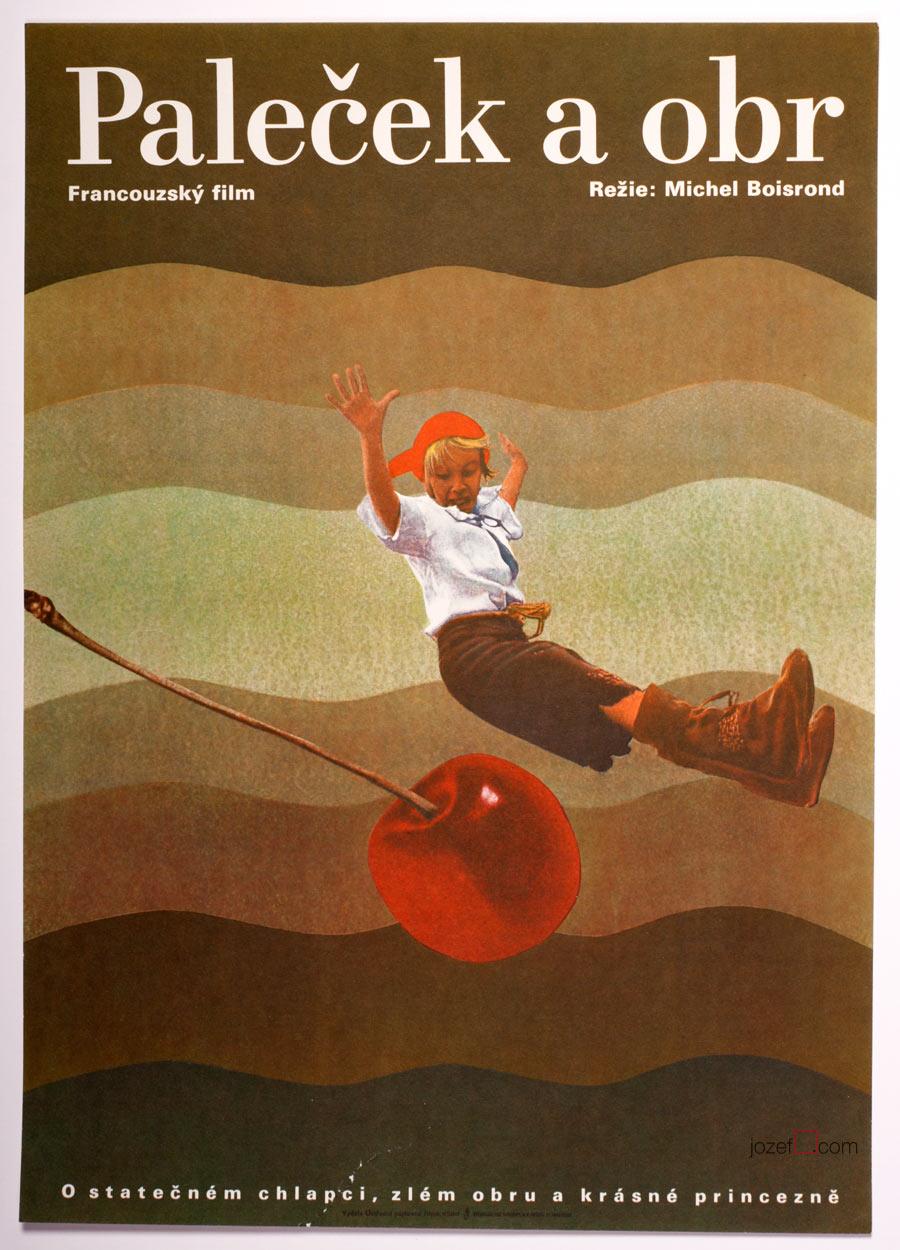 Tom Thumb Movie Poster, Children Poster